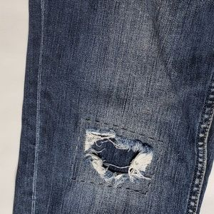 Silver Jeans Jeans - Silver Jeans | Sam Distressed and Patched Jeans